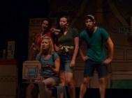 From left: Claire Acott,Shannon Currie, Erin Fleck, Matt Eger