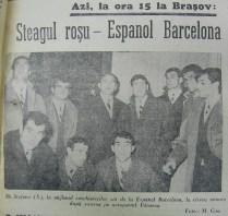 Jucatorii spanioli pe Aeroportul Baneasa
