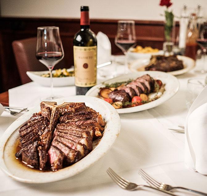 Steak Boutique Tisch