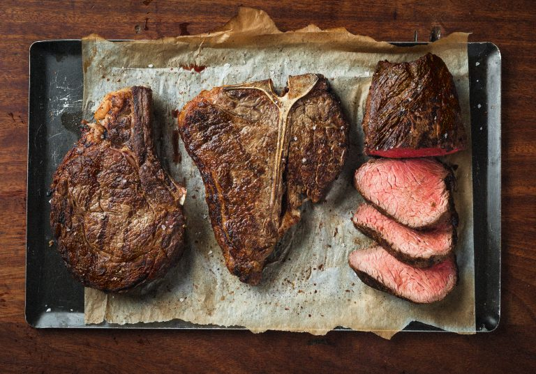 An image of steak at Hawksmoor