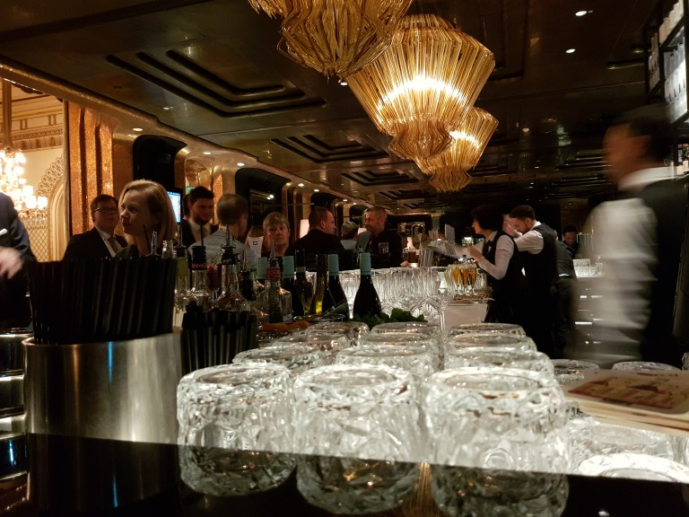 An image of the bar at Casino Baden-Baden