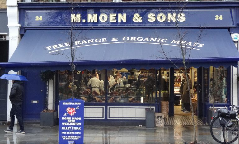 An image of storefront at Moen and Sons