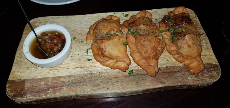 An image of Empanadas at Omnino Leadenhall