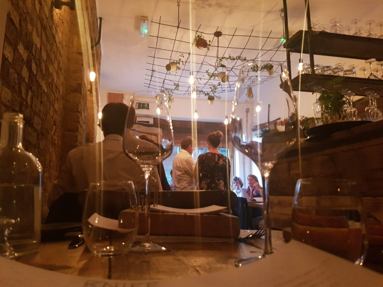 An image of the interior of Knife Restaurant