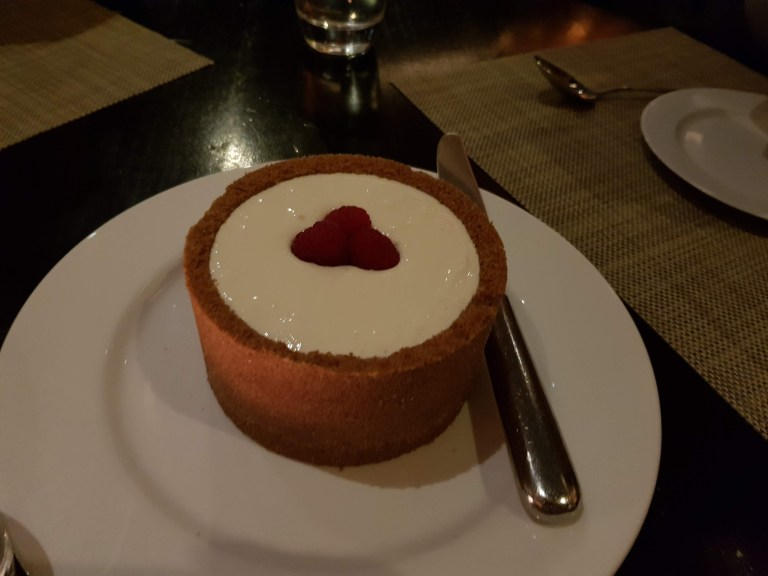 An image of the cheesecake at JW Steakhouse