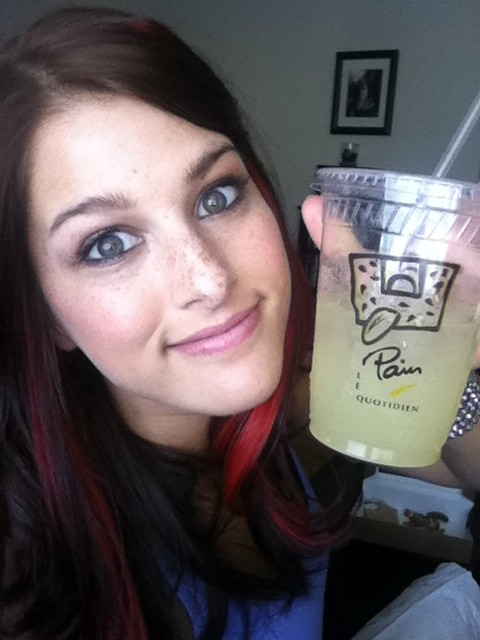 Cassadee Pope Red Highlights Steal Her Style