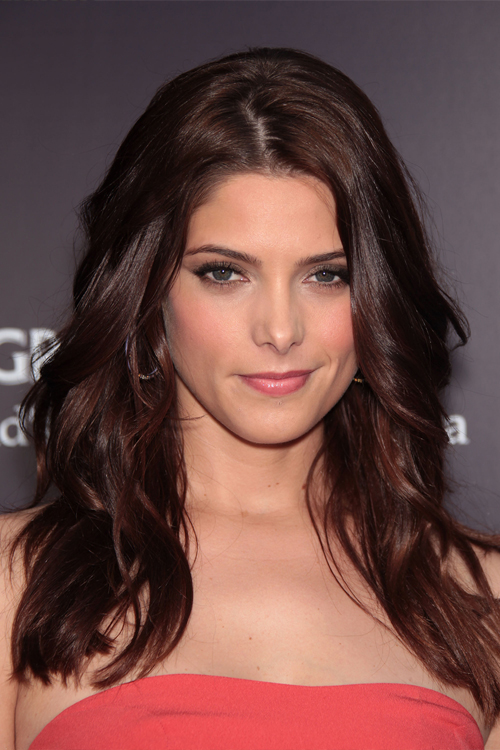 Ashley Greene Wavy Auburn Hairstyle Steal Her Style