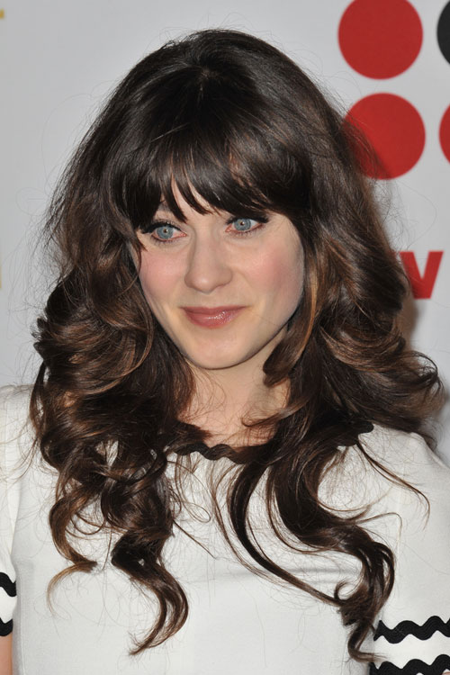 Zooey Deschanels Hairstyles Amp Hair Colors Steal Her