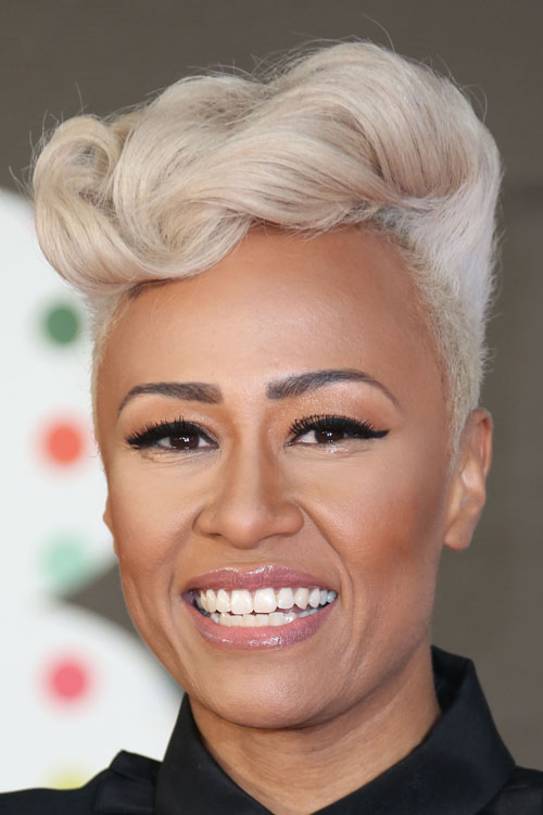 Emeli Sande Wavy Silver Hairstyle Steal Her Style