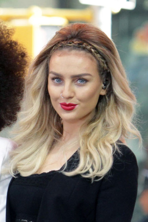 Perrie Edwards Hairstyles Amp Hair Colors Steal Her Style