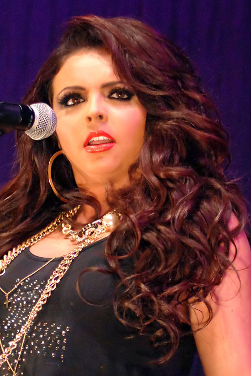 Jesy Nelson Wavy Auburn Hairstyle Steal Her Style