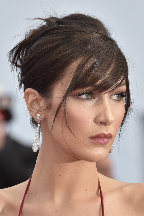 Image result for bella hadid bangs hairstyle