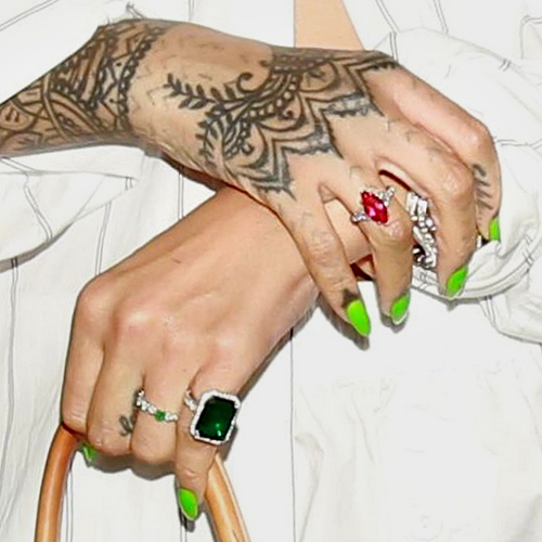 Rihanna nails