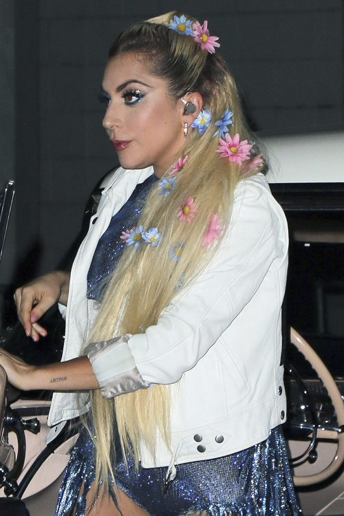 Lady Gagas Hairstyles Amp Hair Colors Steal Her Style