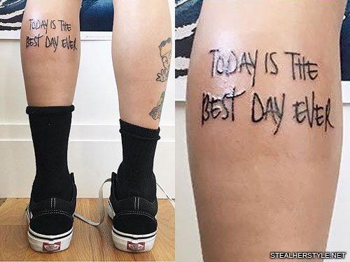 Leigh Anne Pinnock Tattoos