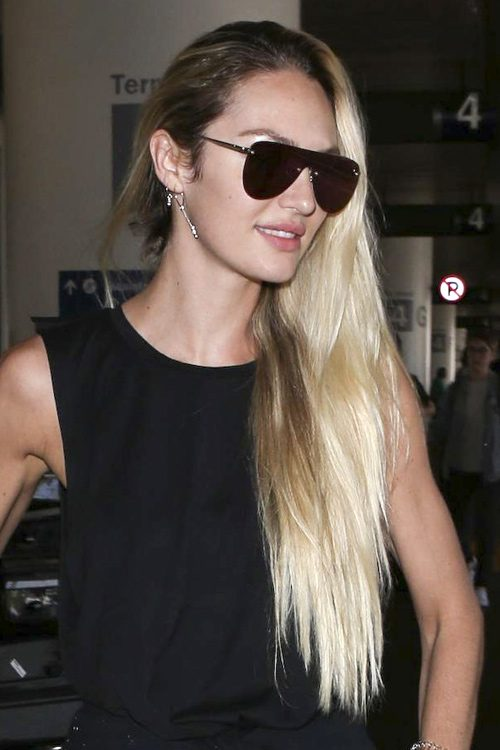 Candice Swanepoels Hairstyles Amp Hair Colors Steal Her Style