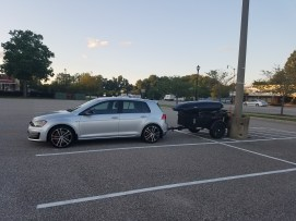 """This, too, was more about creative use of real estate than """"stunt parking."""" I was able to use a portion of an unusable spot at this stadium. This spot is also in the boonies, far from other customers."""