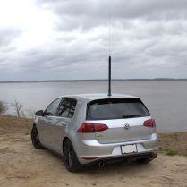 My Yaesu ATAS-120A antenna, tuned for 7.2 MHz...