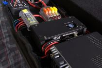 This N8XJK Super Booster keeps the radios fed with stable voltage...