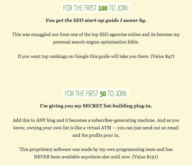 bonus-limited-time