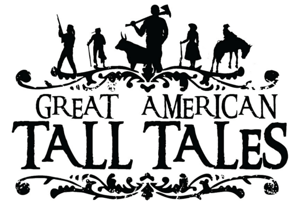 American tall tales silhouettes