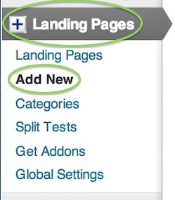 how to create a landing page in wordpress free screenshot