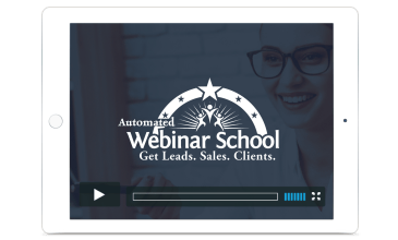 automated webinar school