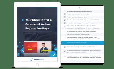 Checklist for a Successful Webinar Registration Page