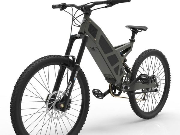 P-7 Stealth Bike Grey