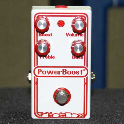 Idiotbox PowerBoost effects pedal
