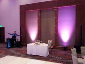 Maui DJ Lighting for weddings and events