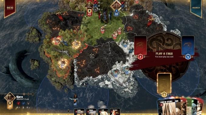 Blood Rage: Digital Edition Screenshot 1