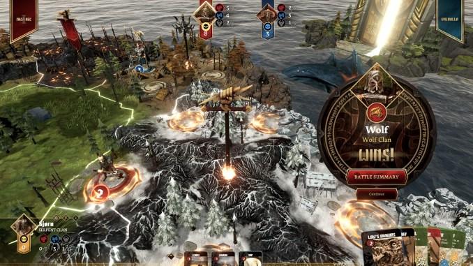 Blood Rage: Digital Edition Screenshot 3