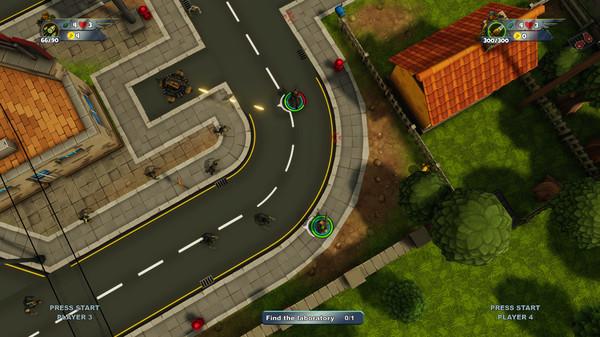 Delta Squad multiplayer gameplay screenshot