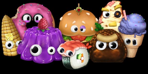 Lunch-A-Palooza personajes