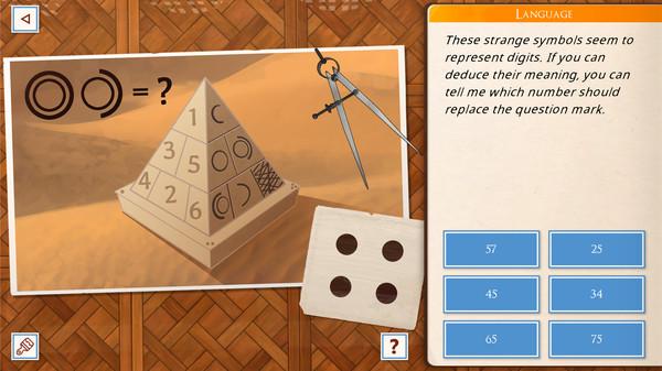 Un exemple d'énigme (en V.o.)
