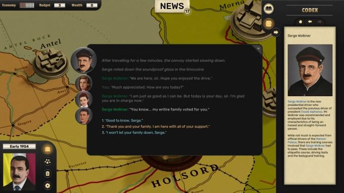 Suzerain screenshot 2