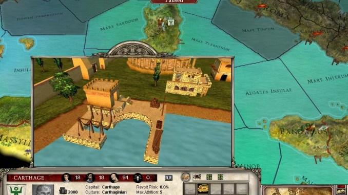 Europa Universalis: Rome Gold screenshot 1