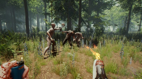"VR Version of ""The Forest"" Adds Multiplayer In Latest Patch"