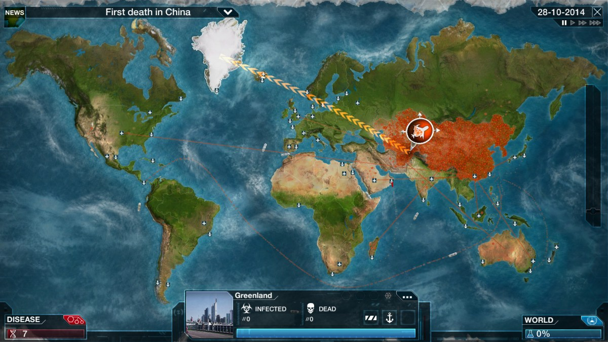 Plague Inc: Evolved - Destroy Humanity by a Pandemic