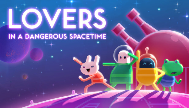 Image result for lovers in a dangerous spacetime""
