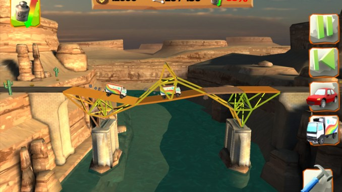 Bridge Constructor Playground screenshot 1