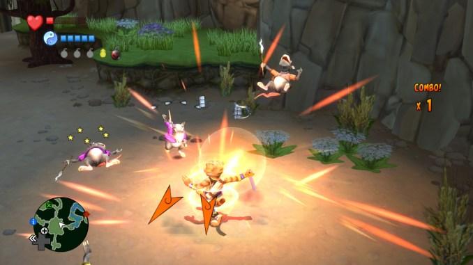 Legend of Kay: Anniversary screenshot 1