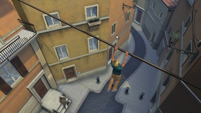 Broken Sword 4: The Angel of Death Screenshot 1