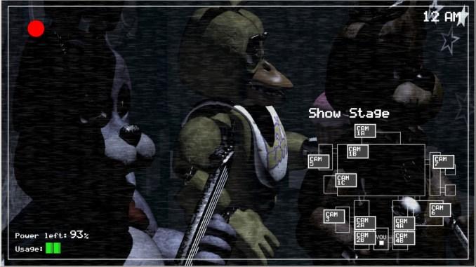 Five Nights at Freddy's Free Game Full Download Screenshot 1