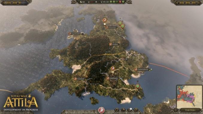 Total War: ATTILA Screenshot 1