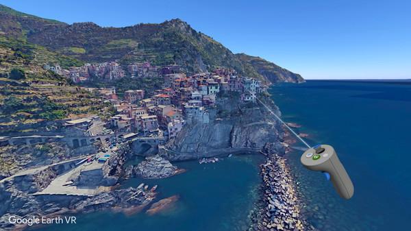 Google Earth VR Screenshot