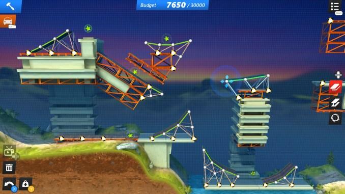 Bridge Constructor Stunts screenshot 3