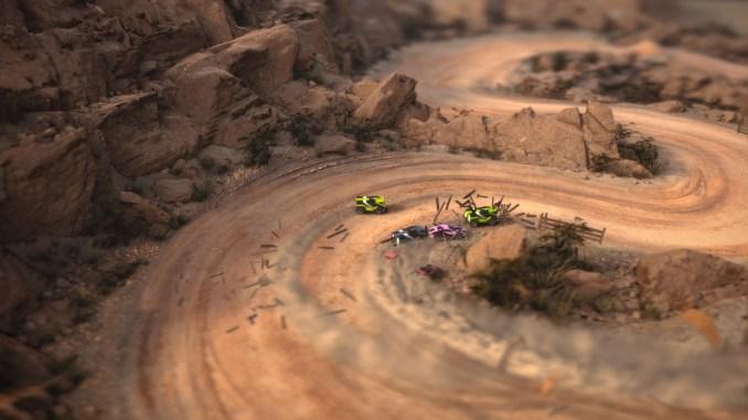 Mantis Burn Racing Screenshot 1