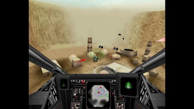 Star Wars: Rogue Squadron Screenshot 1